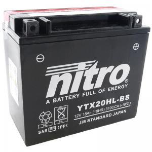 Nitro Batteri (YTX20HL-BS)