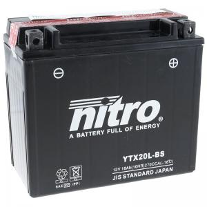 Nitro Batteri (YTX20L-BS)