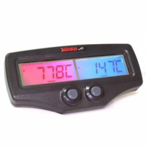 Koso Avgastemperaturmätare (Dual EGT) - Fast