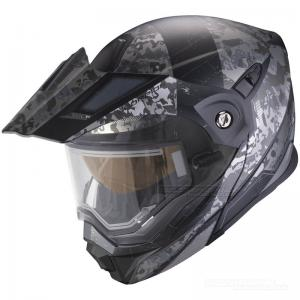 Scorpion ADX-1 Winter (Battleflage) Svart, Silver