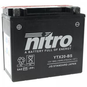 Nitro Batteri AGM (YTX20-BS)