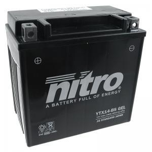 Nitro Batteri (YTX14-BS) GEL