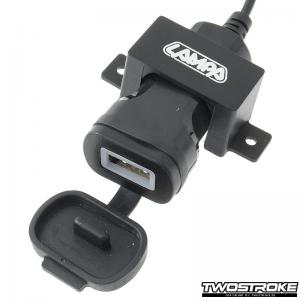 Lampa USB-uttag (Omega)