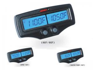 Koso Avgastempmätare (Dual EGT / RPM) - FAST