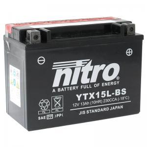 Nitro Batteri AGM (YTX15L-BS)