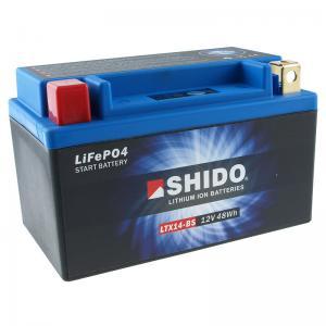 Shido Litiumbatteri (LTX14-BS)