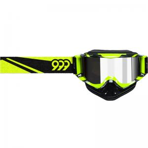 Triple 9 Optics Goggles (SAINT) Black/Hi-Viz Yellow