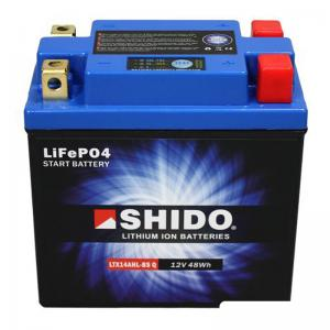 Shido Litiumbatteri (LTX14AHL-BS-Q) Litium