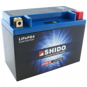 Shido Litiumbatteri (LTX24HL-BS) Litium