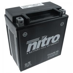 Nitro Batteri (YTX16-BS) GEL