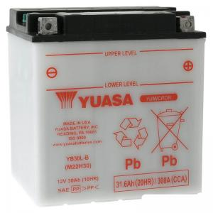 Yuasa Batteri (YB30L-B)